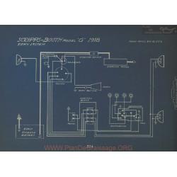Scripps Booth G Schema Electrique 1918 Remy