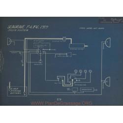 Seagrave F4 F6 Schema Electrique 1919 Delco