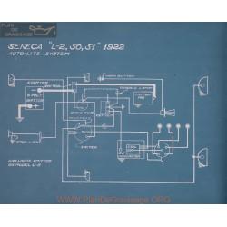 Seneca L2 50 51 Schema Electrique 1922