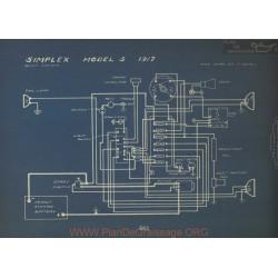 Simplex 5 Schema Electrique 1917 Bosch