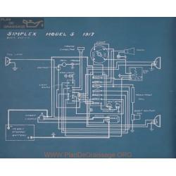 Simplex 5 Schema Electrique 1917