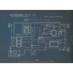 Standard 8 Schema Electrique 1916 Westinghouse