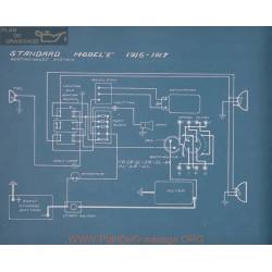 Standard E Schema Electrique 1916 1917