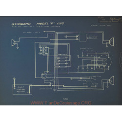 Standard F Schema Electrique 1917 Apelco Dixie