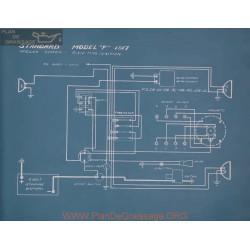 Standard F Schema Electrique 1917