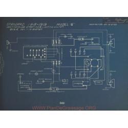 Standard G Schema Electrique 1918 1919 Westinghouse