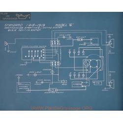 Standard G Schema Electrique 1918 1919