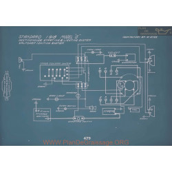Standard G Schema Electrique 1918