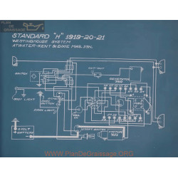 Standard H Schema Electrique 1919 1920 1921