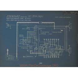Standard H Schema Electrique 1919 1920 Westinghouse