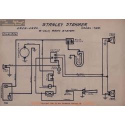 Stanley Steamer 735 6volt Schema Electrique 1919 1920 Remy V2