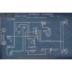 Stanley Steamer 735 6volt Schema Electrique 1919 1920 Remy