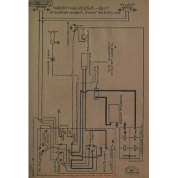 Stearns Knight Eight 32 Schema Electrique 1917 Westinghouse
