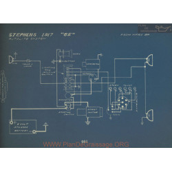 Stephens 35 Schema Electrique 1917 Autolite