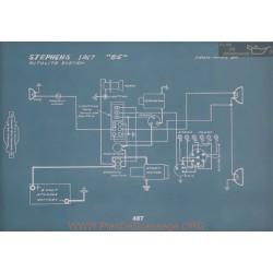 Stephens 35 Schema Electrique 1917