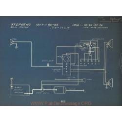 Stephens 60 65 70 74 75 78 Schema Electrique 1917 Delco