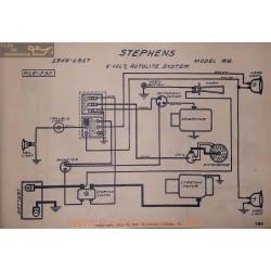 Stephens 65 6volt Schema Electrique 1916 1917 Autolite V2