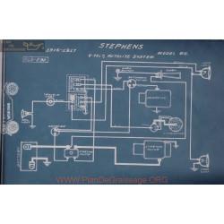 Stephens 65 6volt Schema Electrique 1916 1917 Autolite