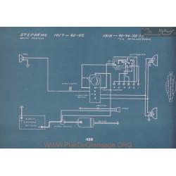 Stephens 70 74 75 78 Schema Electrique 1918