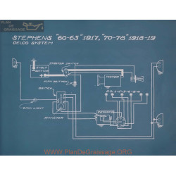 Stephens 70 78 Schema Electrique 1918 1919