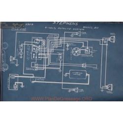 Stephens 80 6volt Schema Electrique 1919 Autolite