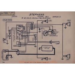 Stephens 80 Serie 6volt 8volt Schema Electrique 1920 Autolite