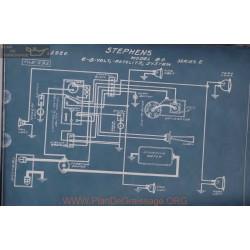 Stephens 80 Serie2 6volt 8volt Schema Electrique 1920 Autolite