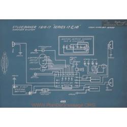 Studebaker 17 18 Schema Electrique 1916 1917