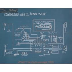 Studebaker 17 18v Schema Electrique1916 1917