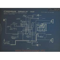 Studebaker 20 Schema Electrique 1920 Wagner Remy