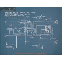 Studebaker 20 Schema Electrique 1920