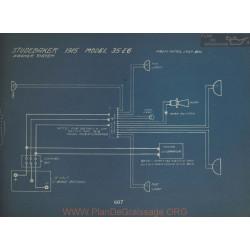 Studebaker 35 Eg Schema Electrique 1915 Wagner