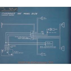 Studebaker 35 Eg Schema Electrique 1915