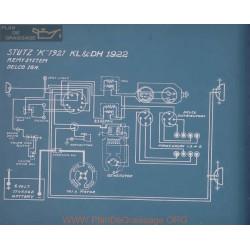 Stutz Kl Dh Schema Electrique 1922