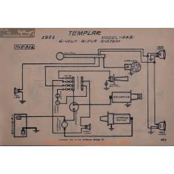 Templar 445 6volt Schema Electrique 1921 Bijur