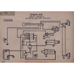 Templar 6volt Schema Electrique 1920 Bijur