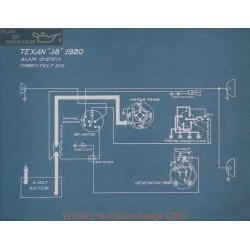 Texan 38 Schema Electrique 1920