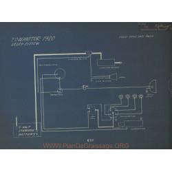 Towmotor Schema Electrique 1920 Delco