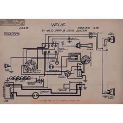 Velie 15 6volt Schema Electrique 1915 Gray & Davis ver2