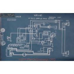 Velie 15 6volt Schema Electrique 1915 Gray & Davis