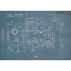 Velie 15 Schema Electrique 1915 1916 V2
