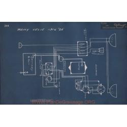 Velie 22 Schema Electrique 1916 V3