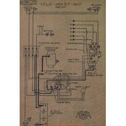 Velie 27 Schema Electrique 1917 Remy V2