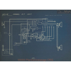 Velie 27 Schema Electrique 1917 Remy
