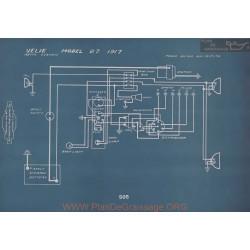 Velie 27 Schema Electrique 1917 V2