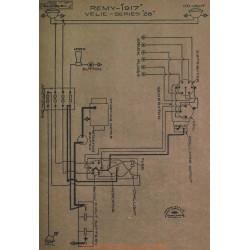 Velie 28 Schema Electrique 1917 Remy V2