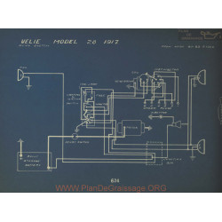 Velie 28 Schema Electrique 1917 Remy