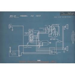 Velie 28 Schema Electrique 1917 V2