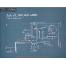 Velie 34 Schema Electrique 1920 1921 1922