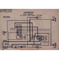 Warren 16volt Schema Electrique 1913 North East